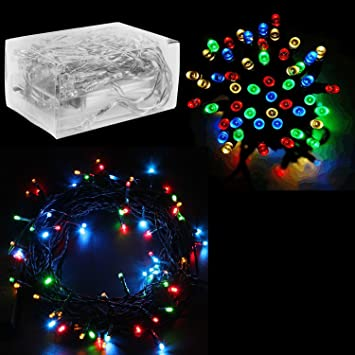 30 Mini Bulb LED Battery Operated Fairy String Lights in Assorted Colors  for Valentines Day, - Amazon.com: 30 Mini Bulb LED Battery Operated Fairy String Lights In
