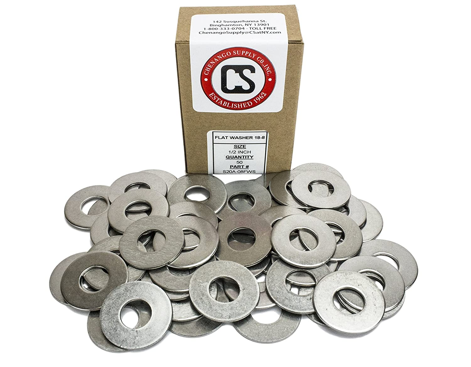 Stainless 1//2-13 x 4 Hex Head Bolts 25 pieces 3//4 To 5 Lengths Available in Listing 1//2-13 x 4 304 Stainless Steel