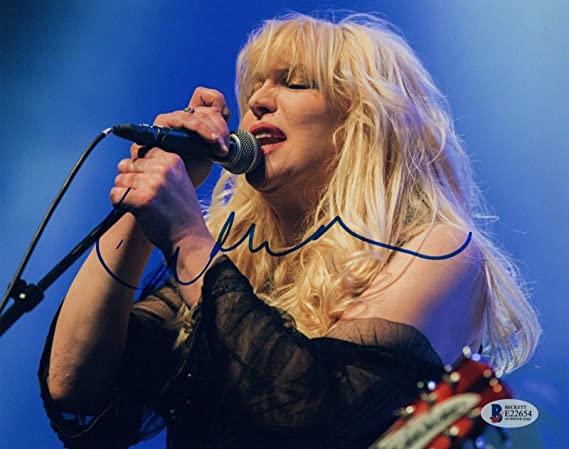 4caf7113b3 Courtney Love Signed Autographed 8x10 Photo HOLE Beckett BAS COA at ...