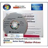 Microsoft Windows 7 Professional 64Bit - Package Originale Sigillato - European Version (DVD in Inglese ma la chiave attiva anche la versione italiana)