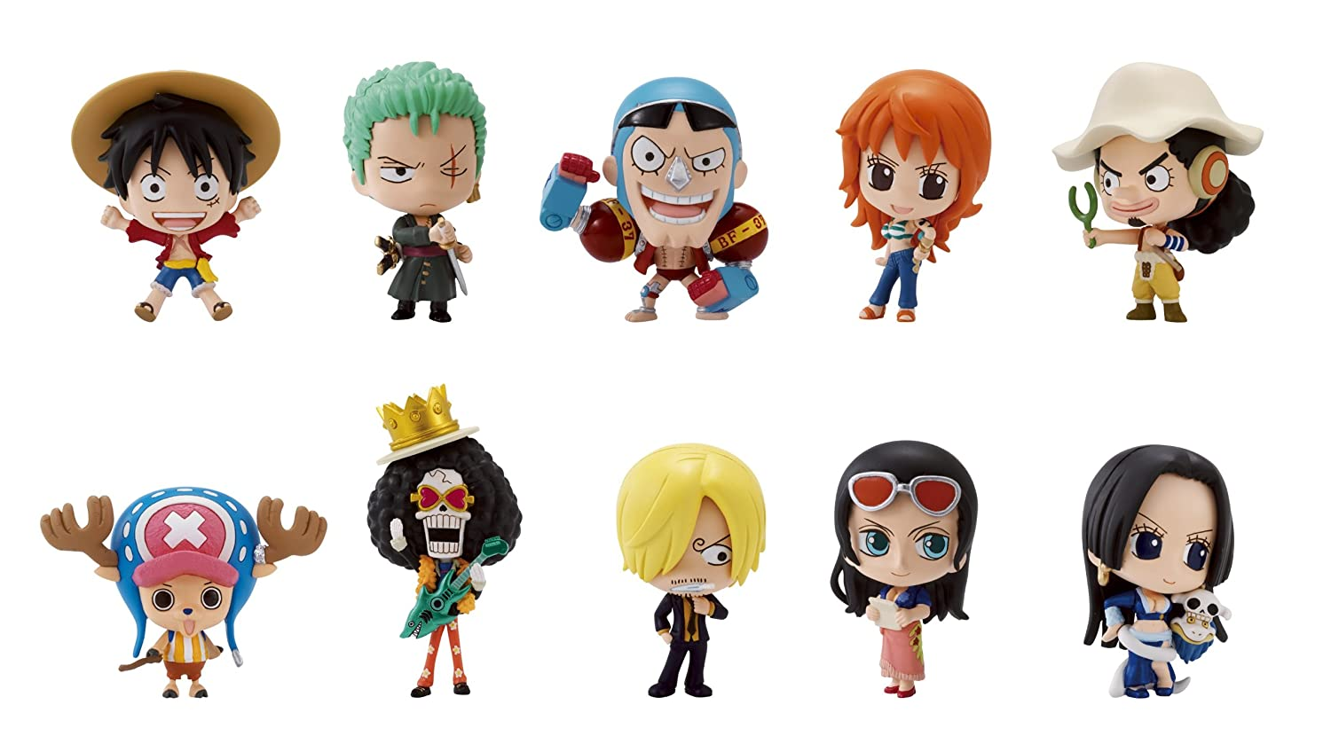 One Piece - DMP Trading Figure Vol. 4 Display Box of 10 (japan import)