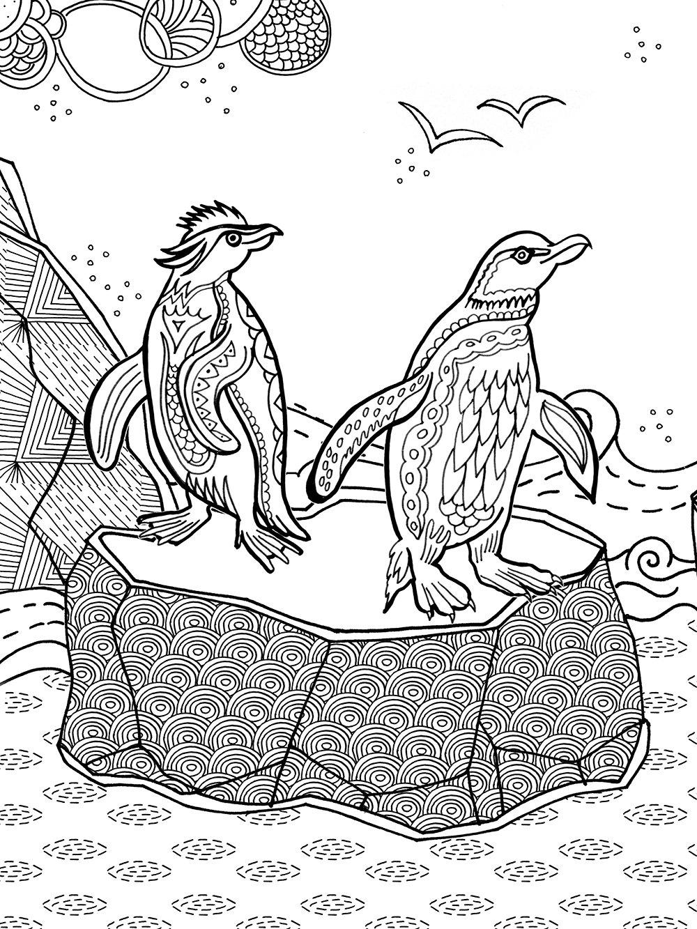 Fantastisches Reich Der Tiere Meditatives Ausmalen Amazon De