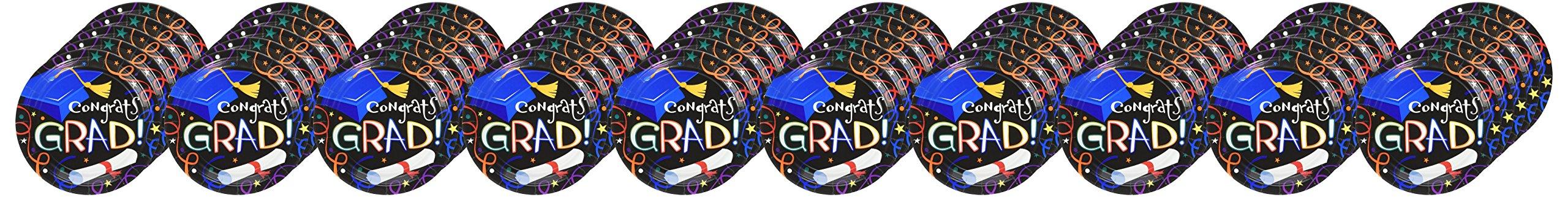 Grad Celebration Dessert Plates, 50ct by Party America (Image #1)