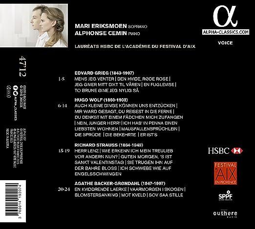 Grieg Wolf Strauss Backer G Grieg Wolf Strauss