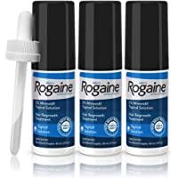 Men's Rogaine Extra Strength 5% Minoxidil Topical Solution for Hair Loss and Hair Regrowth, Topical Treatment for…