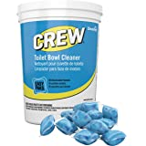 Diversey Crew Easy Paks Toilet Bowl Cleaner, 2 Tubs x 90 Dissolvable Packets, .5 oz. Packet (180 Total Dissolvable Packets)