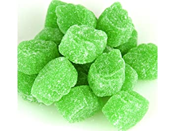 15c016e07f5 Image Unavailable. Image not available for. Color  Ferrara Spearmint Leaves  Candy jelly ...