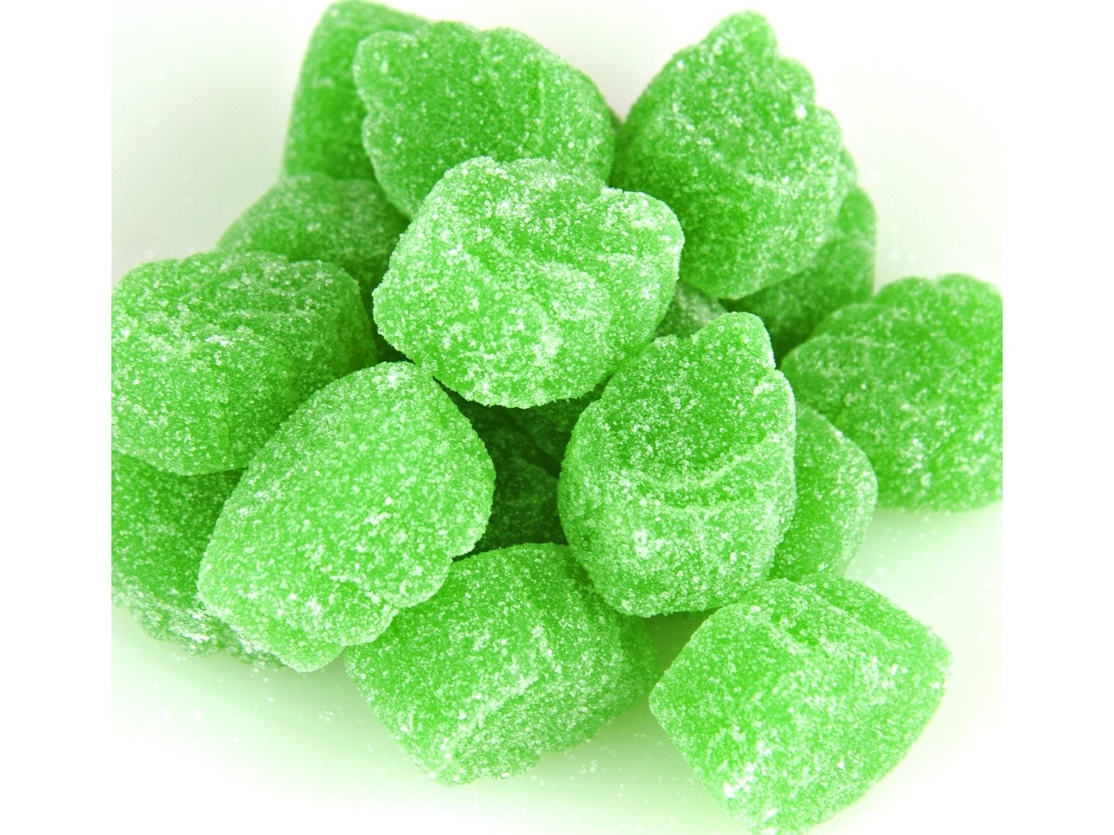 Ferrara Spearmint Leaves Candy jelly spearmint slices (1Lb)