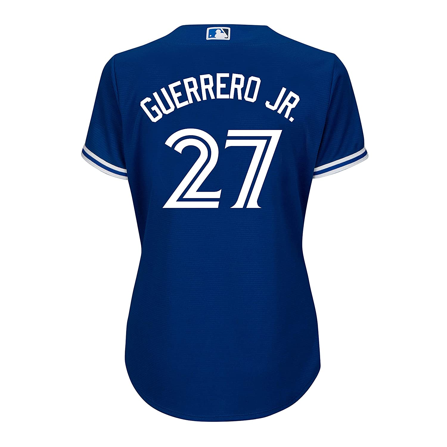 cheap for discount 347f5 8e355 Women's Vladimir Guerrero Jr. Toronto Blue Jays MLB Cool Base Replica Away  Jersey