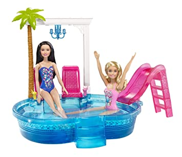 42629971067f3 Amazon.es  Barbie Piscina Glamurosa