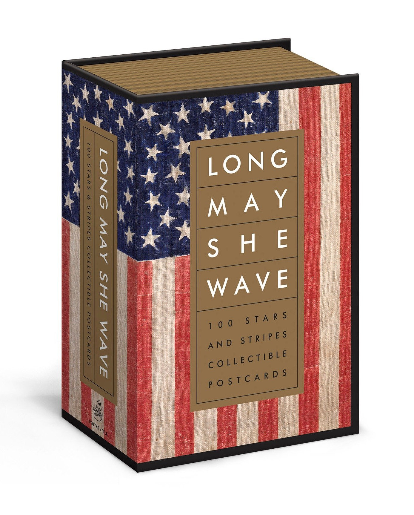 Long May She Wave: 100 Stars and Stripes Collectible Postcards ebook