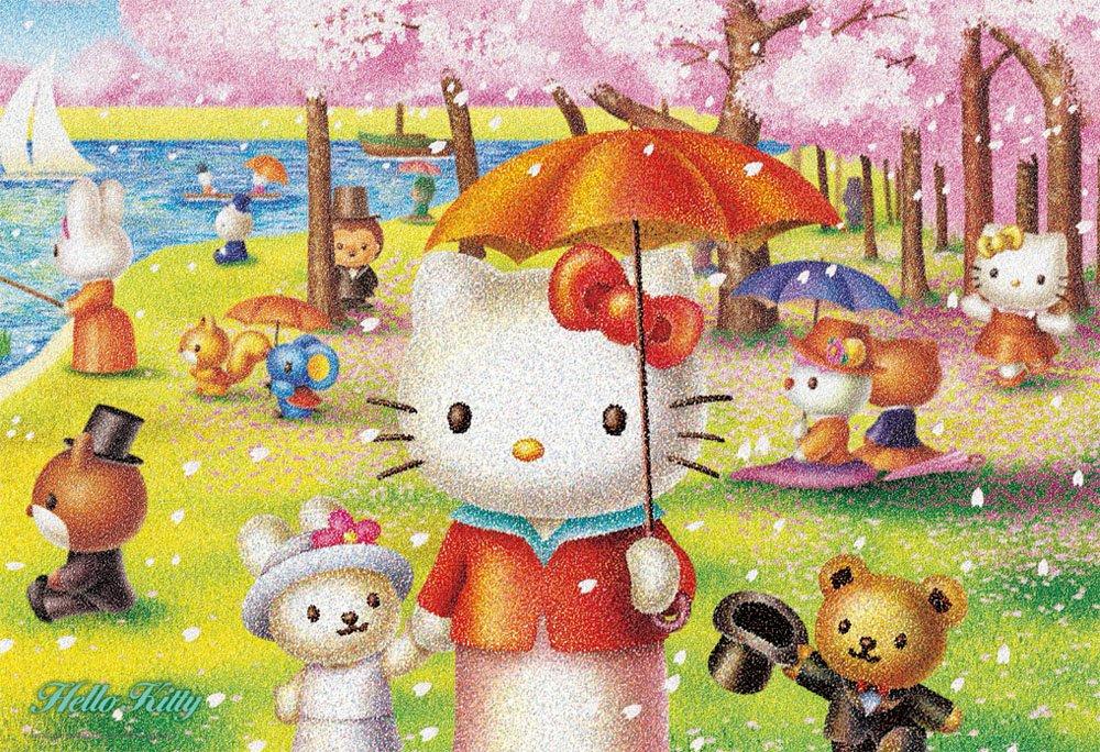 """para mayoristas Sanrio Characters 300 Piece Hello Kitty """"Sunday Island of La La La Grande Jatte"""" 33-074 (japan import)  ahorra hasta un 30-50% de descuento"""