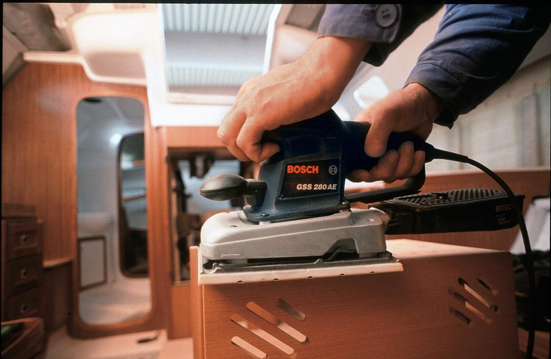 Bosch Professional 2608621595 Hoja de Lija C420 Standard for Wood and Paint Madera y Pintura, 230 x 280 mm, Grano G120, Accesorios para lijadora Orbital