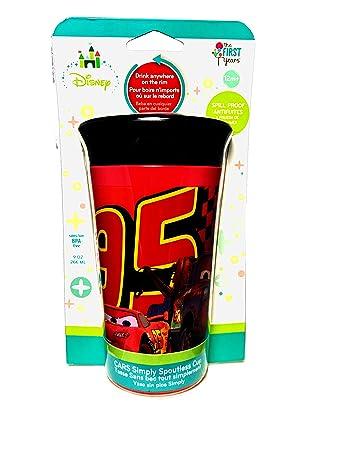 Amazon.com : Disney Cars Baby Boy Simply Spout-less Cup ...