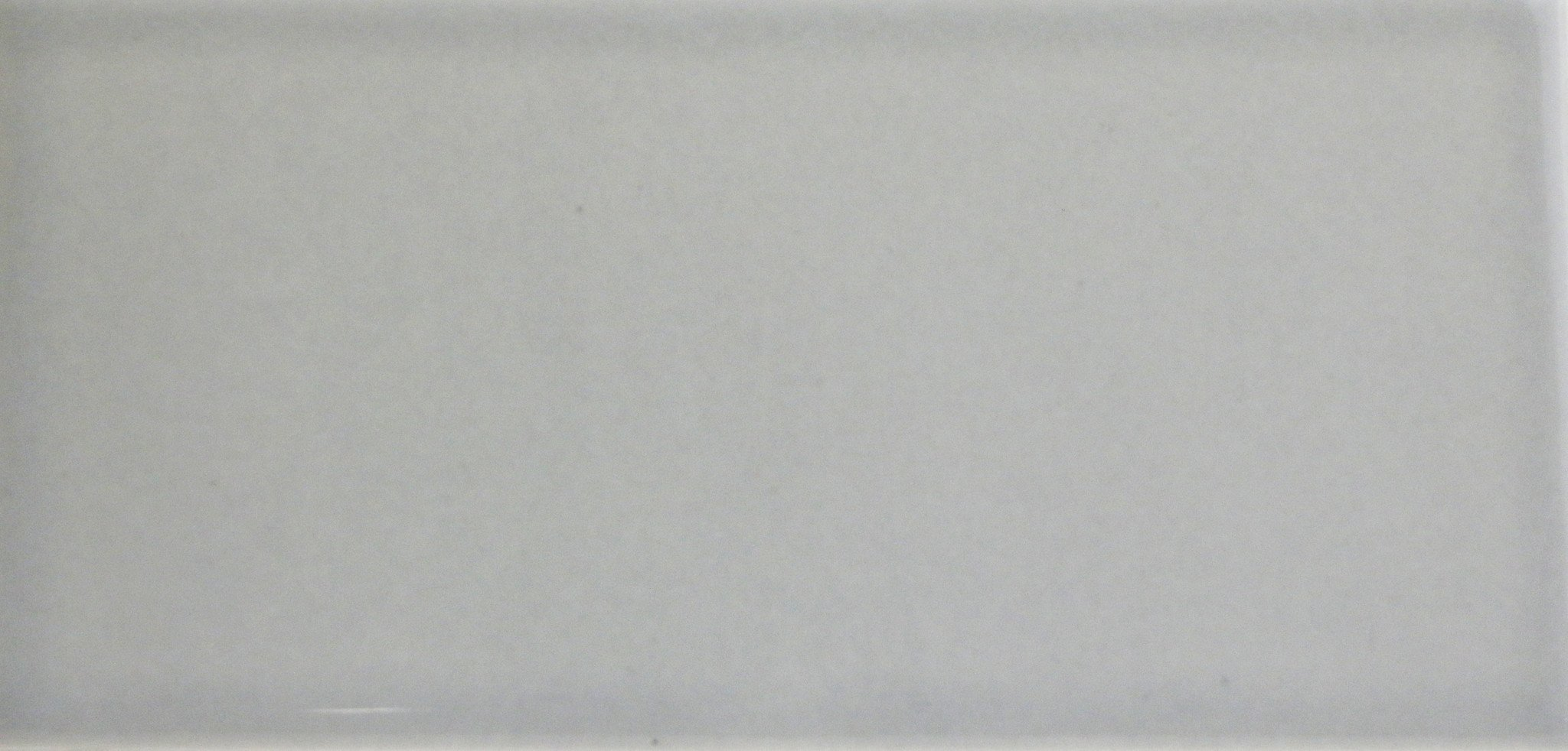 Waterworks Architectonics Field Tile 3 x 6 Bullnose Single (Short) in Gray