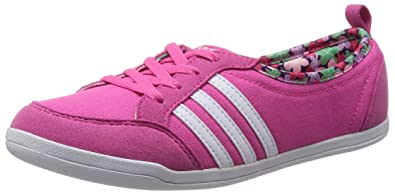 super popular 85cd6 fb41a adidas Piona W Neo Label Damen Halbschuh Ballerina Sneaker Pink F39161 (41  1 3