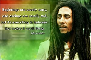 Bob Marley Quote Posters For Classroom Black History Month Poster Decorations School Classrooms Wall Art Decor Teaching Supplies Inspirational Motivational Teacher Educational Learning Mindsets P020