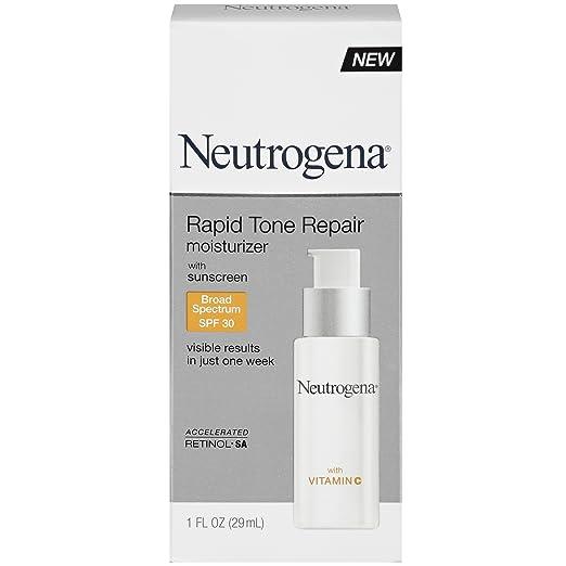 Neutrogena Rapid Tone Repair Moisturizer with Broad Spectrum SPF 30 Sunscreen, 1 Fl. Oz