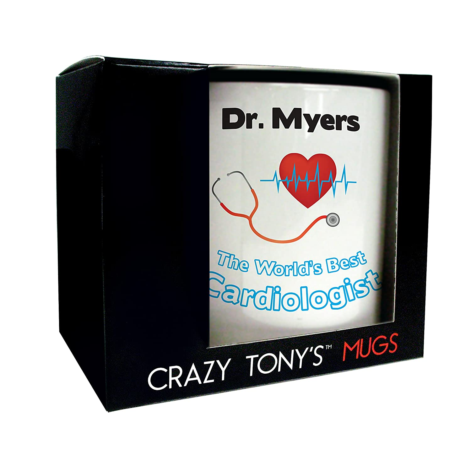 Personalised Mug Cardiologist Congratulation Gifts For Qualified Cardiologists