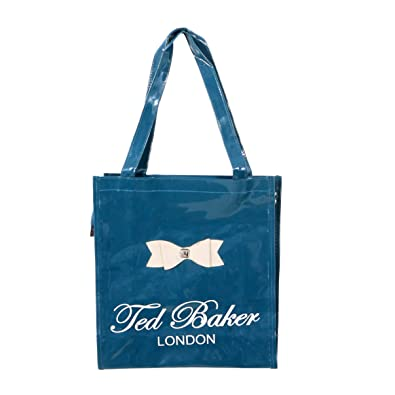 2390e2ae95ef96 Entiresolution Printed women canvas trendy shopping tote ted baker bag -  Royal Navy Blue  Amazon.in  Shoes   Handbags
