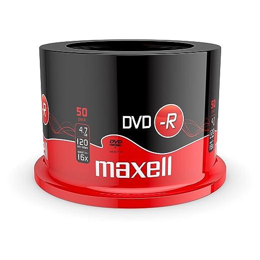389 opinioni per Maxell Campana Da 50 Dvd-R 16X