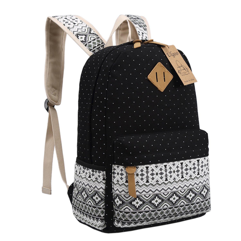 ulgoo school backpacks canvas teen girls backpacks