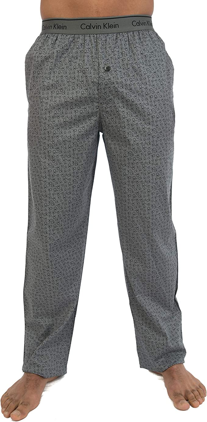 Calvin Klein PJ Pant Pantalones de Pijama para Hombre: Amazon ...