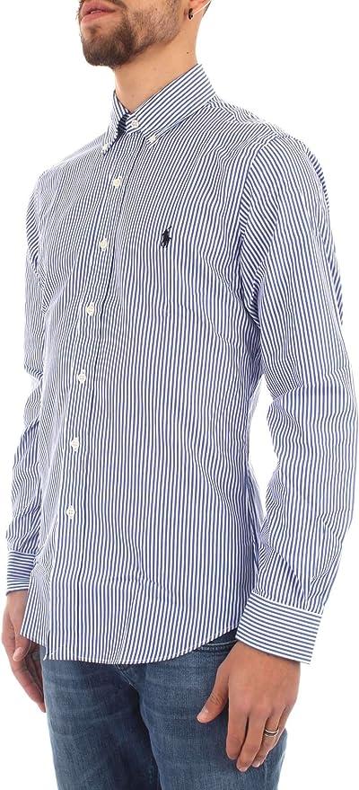 Ralph Lauren-Camicia Slim Fit in Cotone 710705269