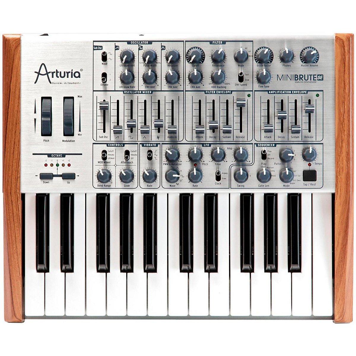 Arturia OAR MINI-BRUTE-SE - Sintetizador, analógico, 25 teclas: Amazon.es: Instrumentos musicales