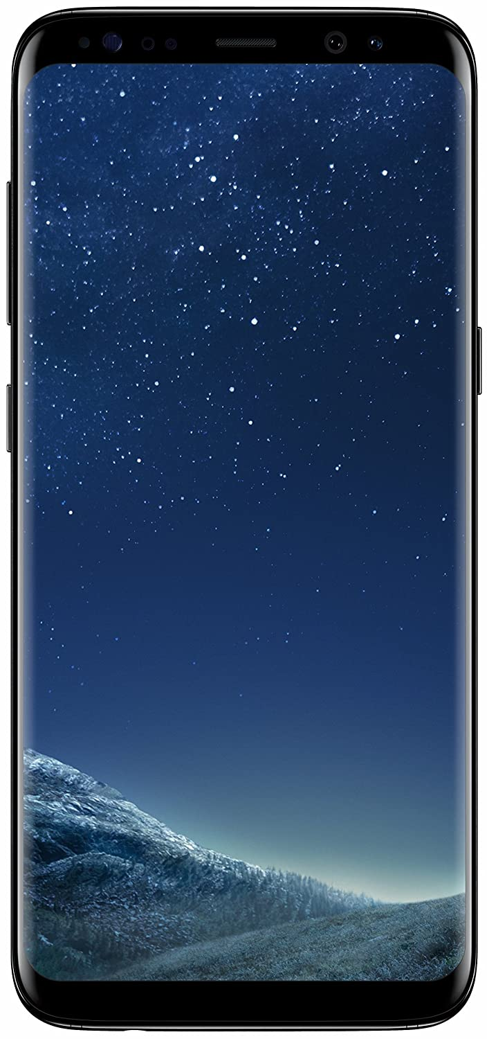 Samsung Galaxy S8 (Midnight Black, 64 GB) (4 GB RAM)