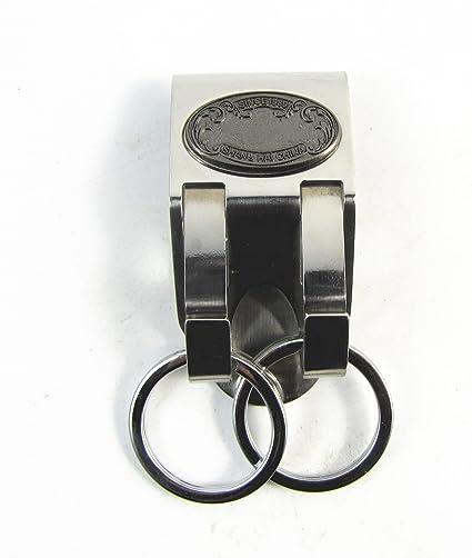 426a504e0de ceinture de sécurité porte - clés chargeur en acier inoxydable - détenteur  de clé - libération