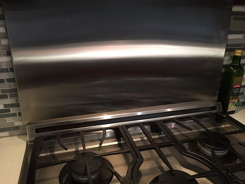 - Amazon.com: Alloy 304 Stainless Steel Backsplash 304#4 (Hemmed