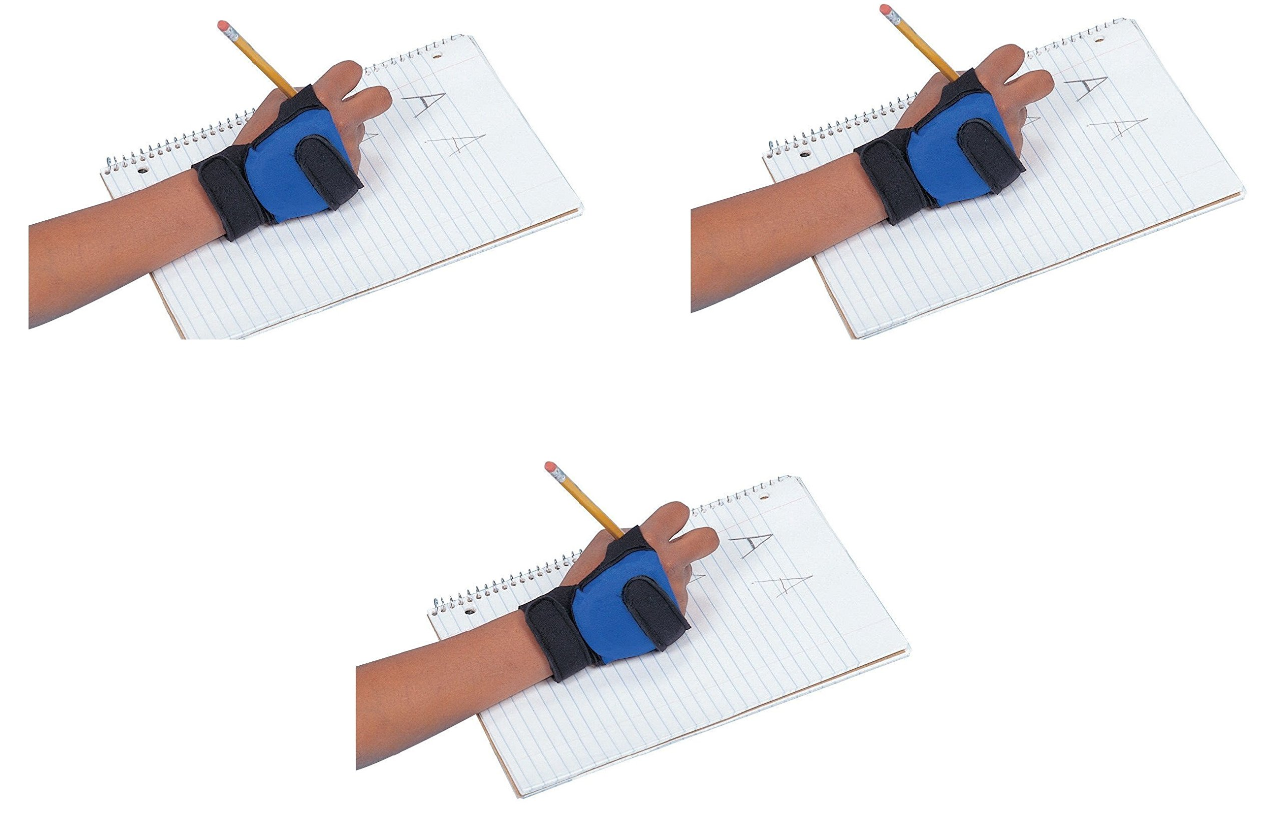 Abilitations 026712 Child Size Write Weight, Right Hand, 0.5 Pound (3 pack)