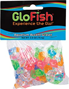 GloFish Accent Gravel for Aquariums, Various Colors & Types