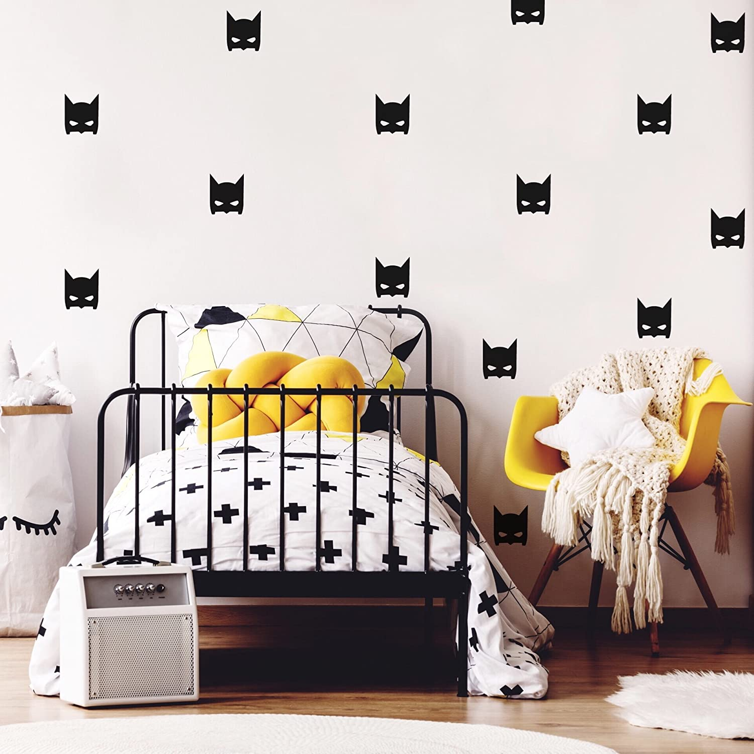 Batman decals by Studio Picco | Stickers for boys, Black wall decal, Baby nursery decor - 24 pcs