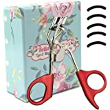 Eyelash Curler by Bella & Bear. Your new Lash Curlers include a free storage bag & refill pad, curl and shape your eyelashes without pinching or pulling
