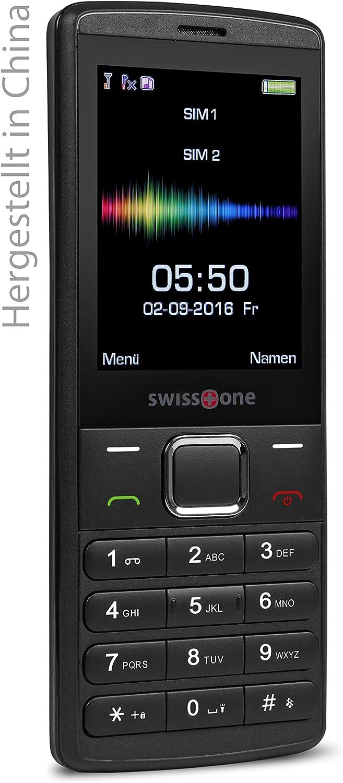 Gsm Mobiltelefon Mit Großem Beleuchtetem Farbdisplay Swisstone Sc 550
