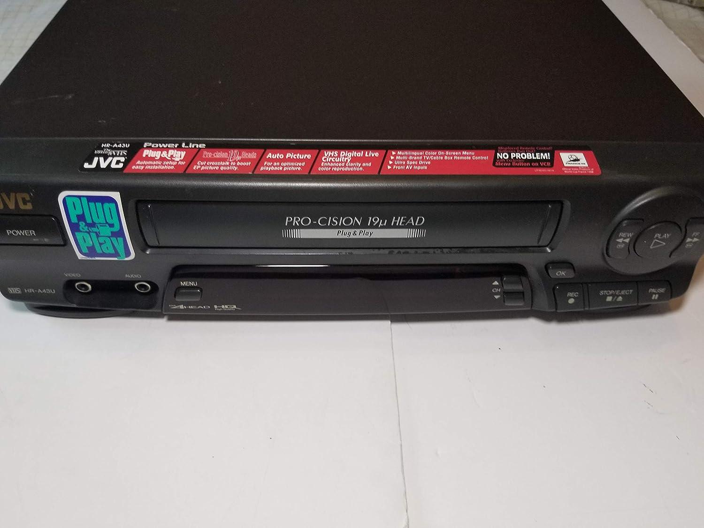 JVC HR-A43U VHS Hi-Fi VCR