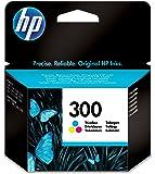 HP CC643EE Cartuccia Inkjet con Inchiostro Vivera 300, 3 Colori