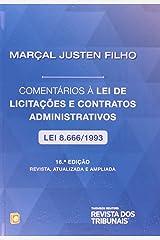Comentários à Lei de Licitações e Contratos Administrativos Capa dura