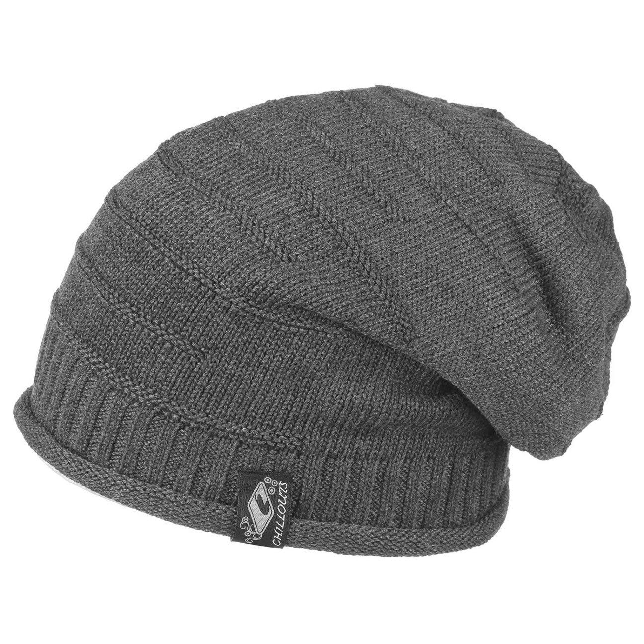 Long Bonnet long Erik - Femmes Hommes Chapeau casquettes unisexes, 2014 (gris)