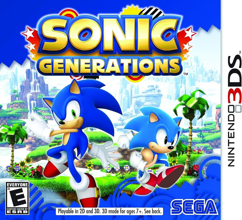 Amazon com: Sonic Generations - Nintendo 3DS: Sega of America Inc
