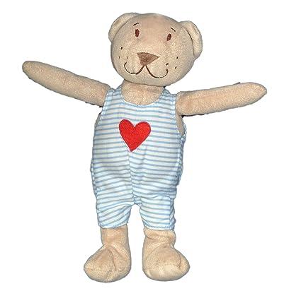 Mantita de seguridad, diseño de oso de Peluche, diseño con forma de corazón-
