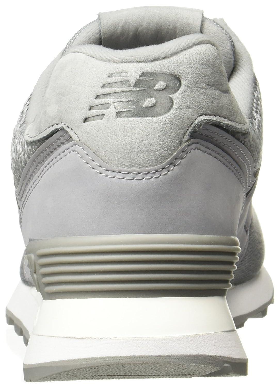 New Balance Woherren 574 574 574 Woherren Silber-grau Turnschuhe Synthetic 993a09