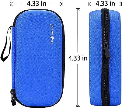 YOUSHARES Insulina Bolsa Para Viaje - Diabéticos Estuche Para Adrenalina y Otros Medicamentos y Plumas con 3 Bolsas de Gel (EVA Azul): Amazon.es: Salud y cuidado personal