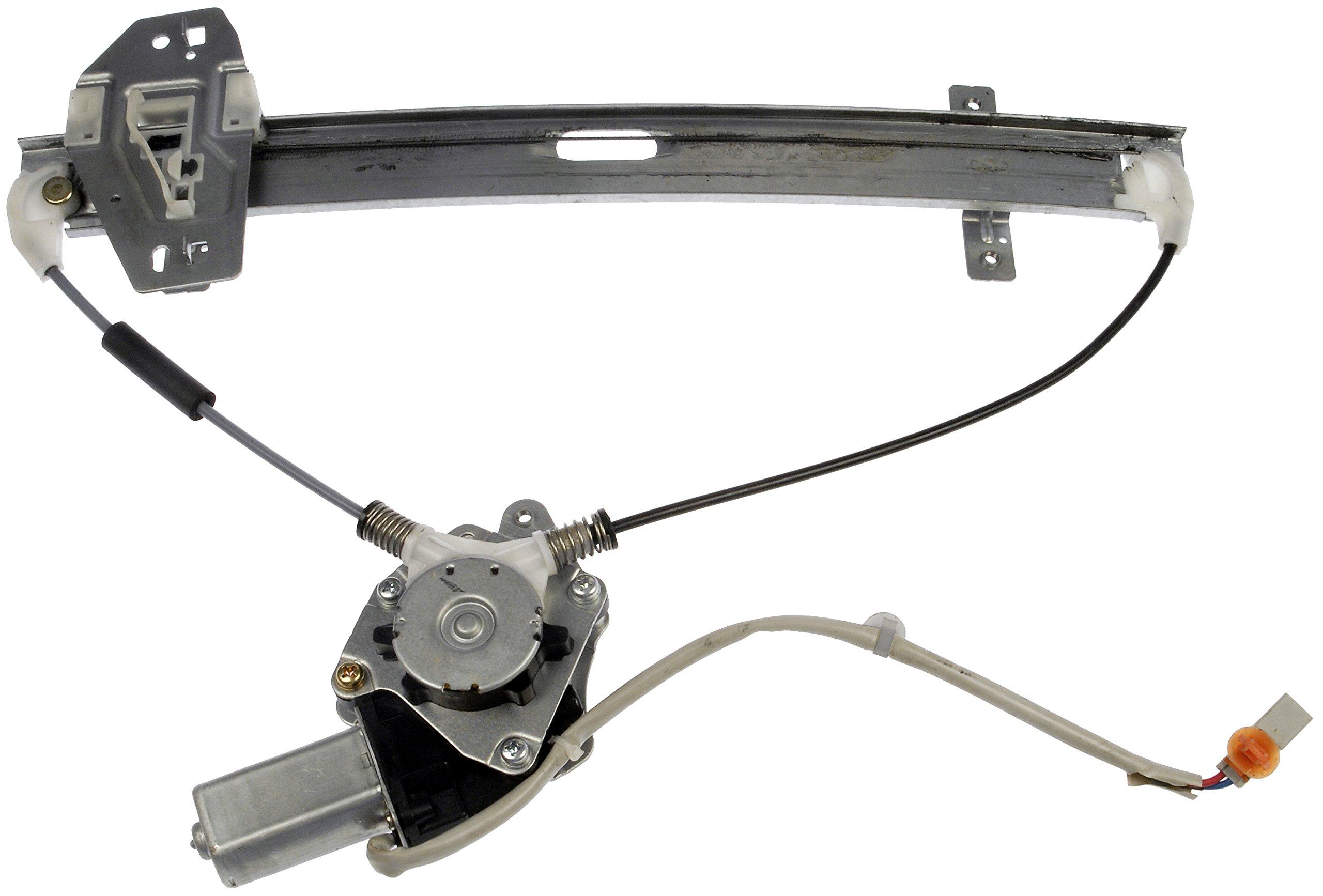 Dorman 748-558 Honda MDX Rear Driver Side Window Regulator with Motor by Dorman