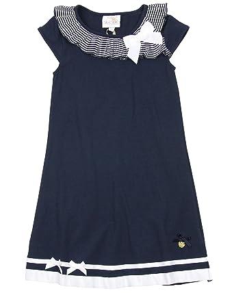 4dd647ec8 Amazon.com: Le Chic Girl's Navy Jersey Dress, Sizes 5-14: Clothing
