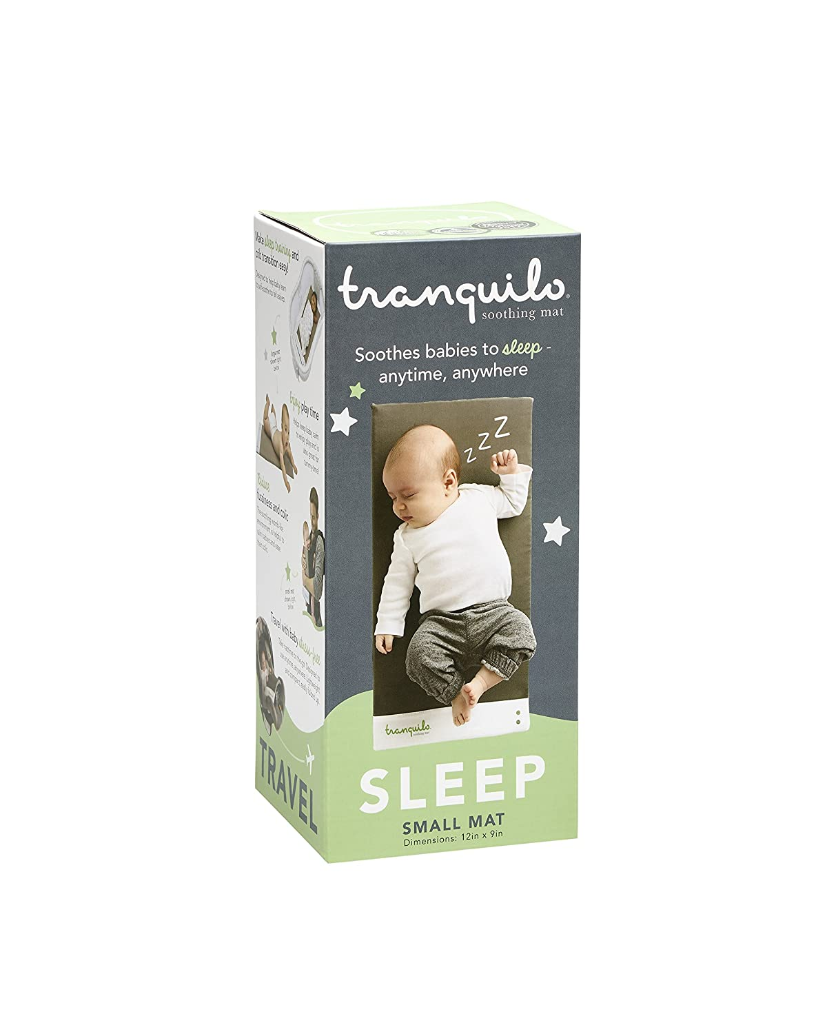 Tranquilo Mat: Portable Soothing Vibrating Baby Mat For Sleep & Playtime & Colic - Small: Infant 0 - 12 months Tranquillo Inc. TM001S