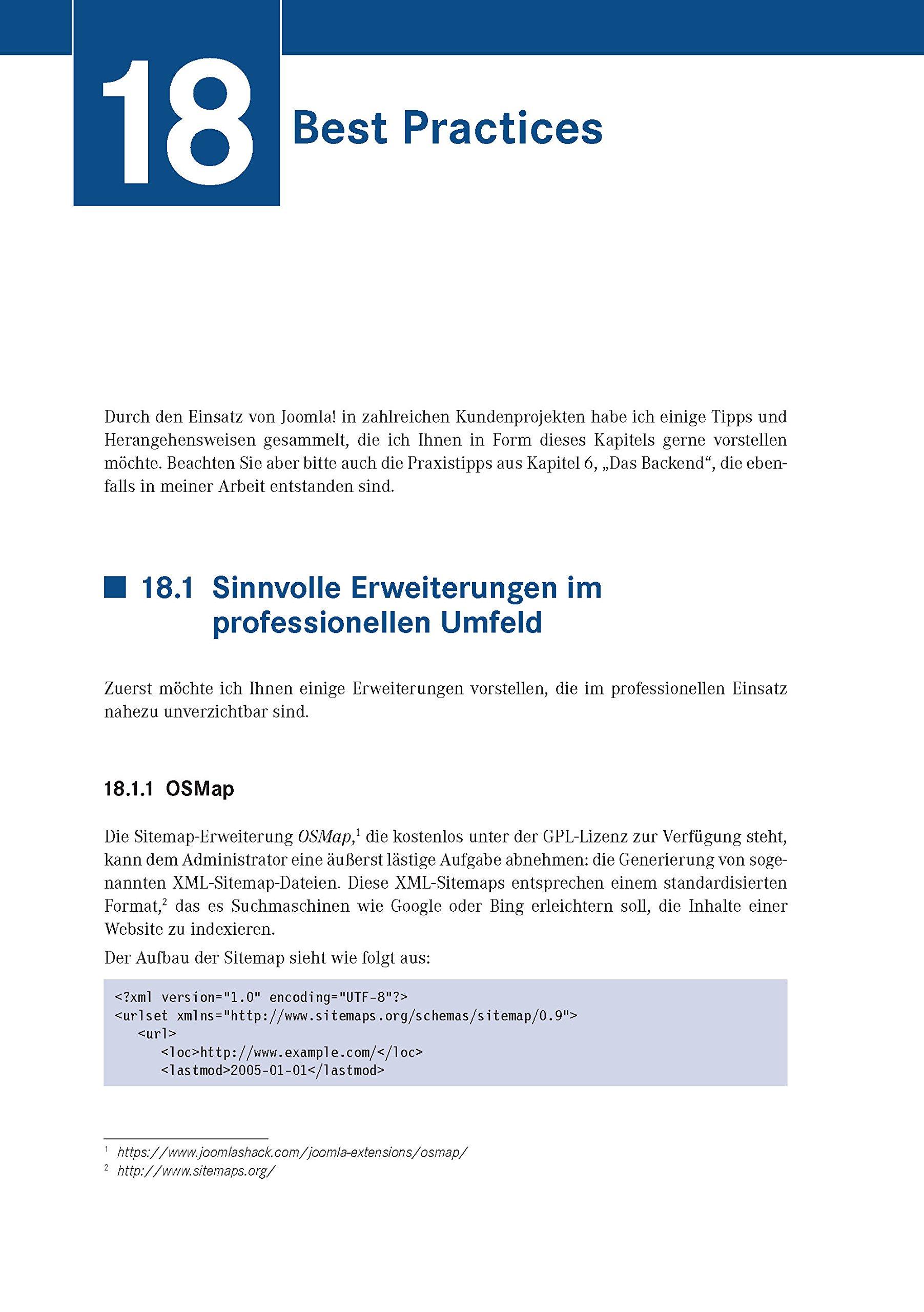 Joomla! 3: Professionelle Webentwicklung. Aktuell zu Version 3.7 ...