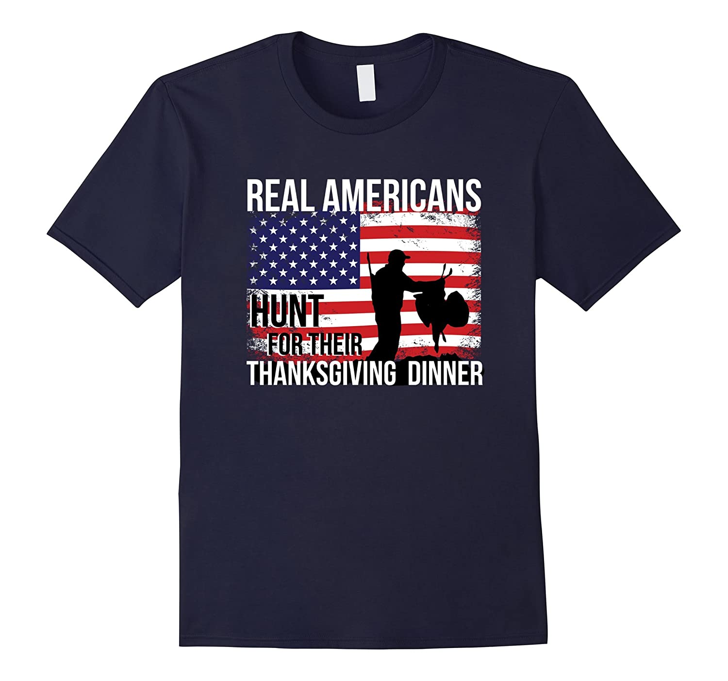 American Thanksgiving Turkey Hunting T-Shirt-FL